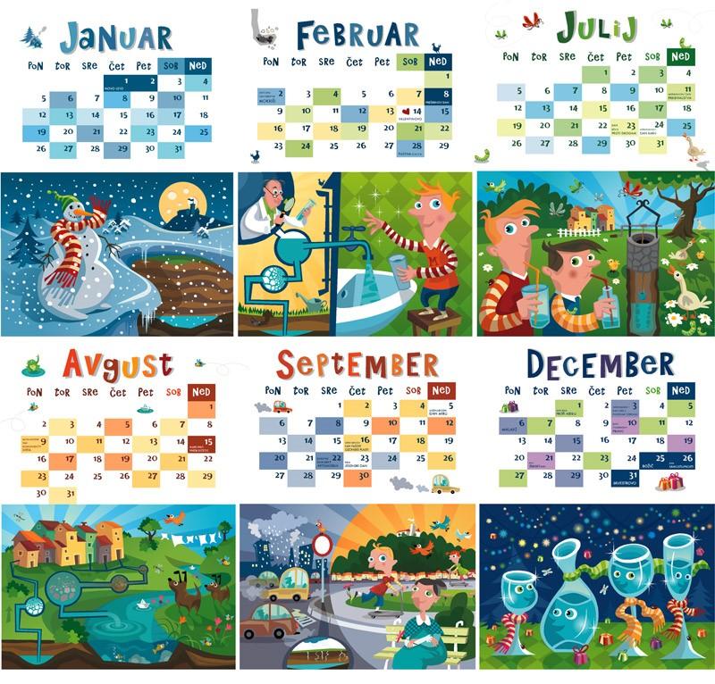 Rezultati zbiralne akcije starih koledarjev