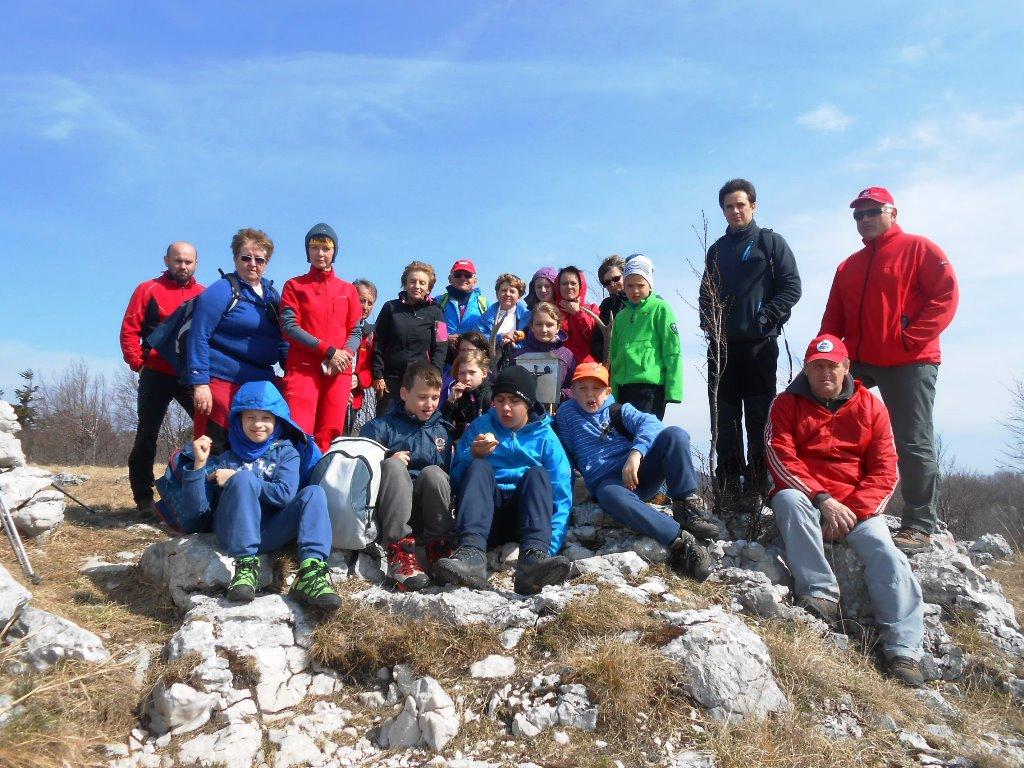 Kršičevec (1091 m) in Bele stene (863 m)
