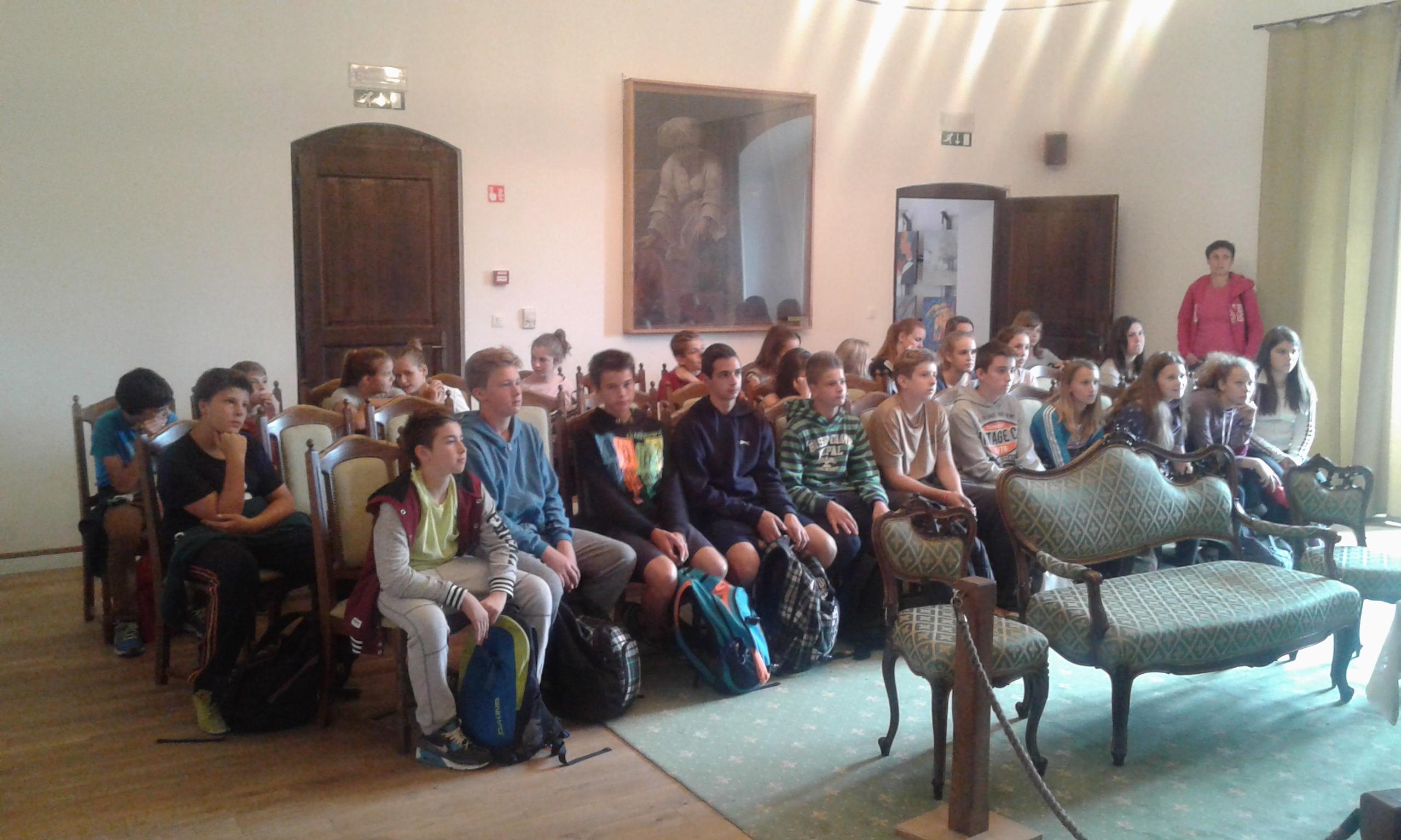 Ekskurzija učencev od 6. do 9. razreda