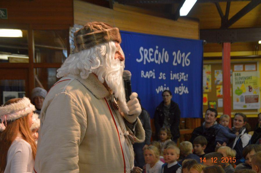 Obisk Dedka Mraza 2015