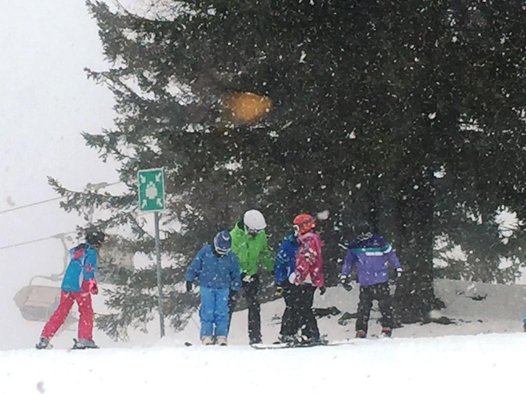 1. dan zimske šole v naravi