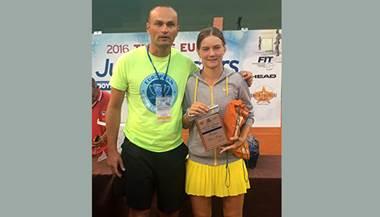 Živa Falkner na mastersu Tennis Europe