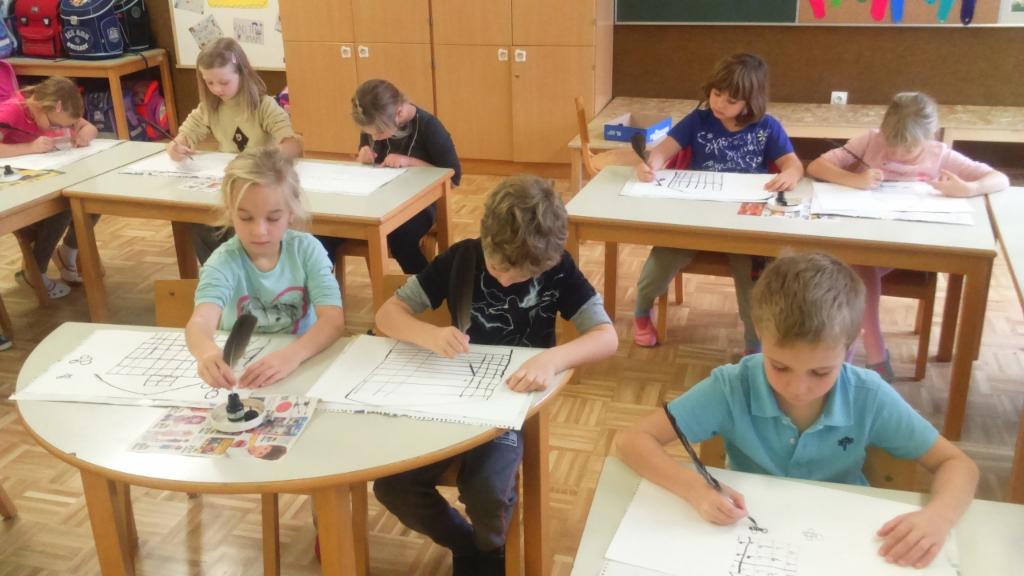 Tradicionalni slovenski zajtrk v 1. a