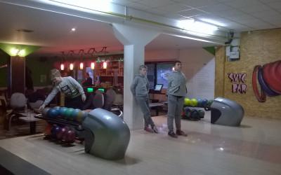 Bowling med novoletnimi počitnicami