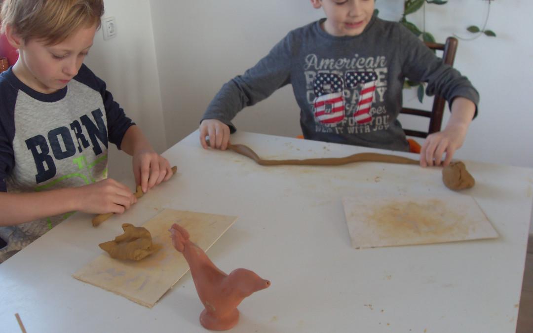 Obisk pri lončarki – tehniški dan