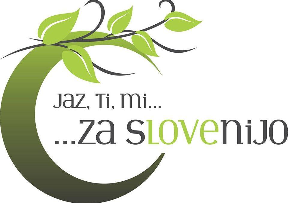 Jaz, ti, mi … za Slovenijo