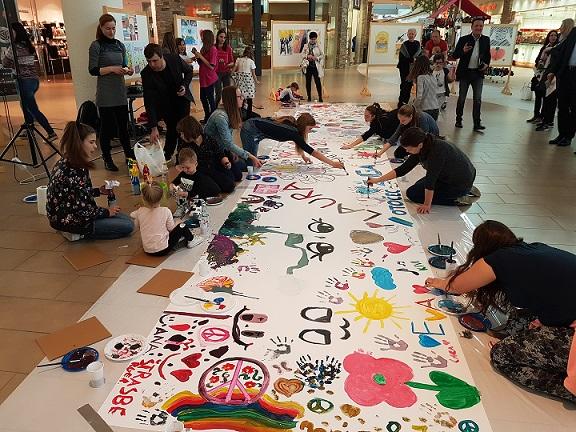 Odprtje razstave Plakat miru