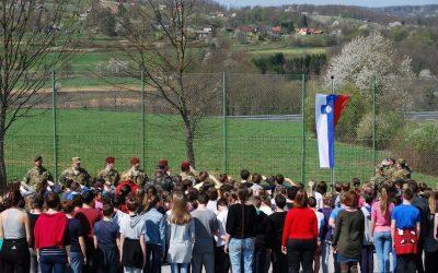 Obisk Slovenske vojske