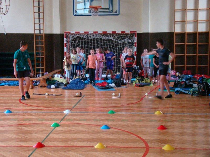 Utrinki s tabora za učence od 2. do 5. razreda