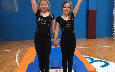 Odličen nastop mladih gimnastičark