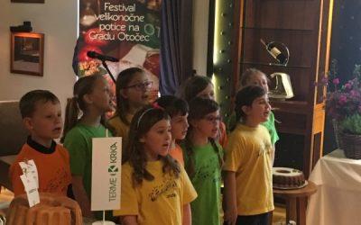 Pevci nastopili na 3. Festivalu velikonočne potice