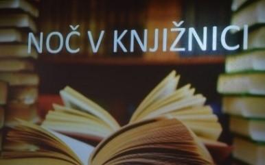 Noč v šolski knjižnici ali branje za boljše spanje